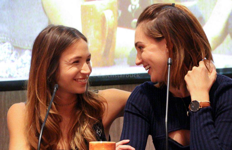 Dominique Provost-Chalkley en Katherine Barrell