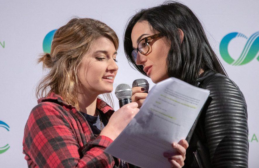 Elise Bauman en Natasha Negovanlis