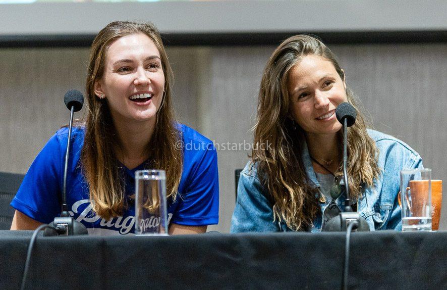 Dominique Provost-Chalkley & Katherine Barrell