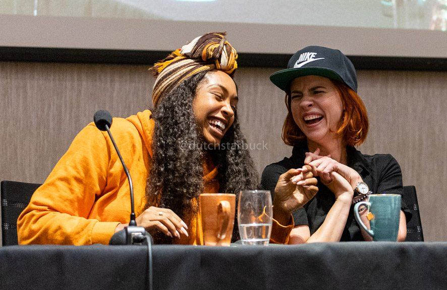 Chantel Riley & Dani Kind, Misunderstood panel EarperConUK